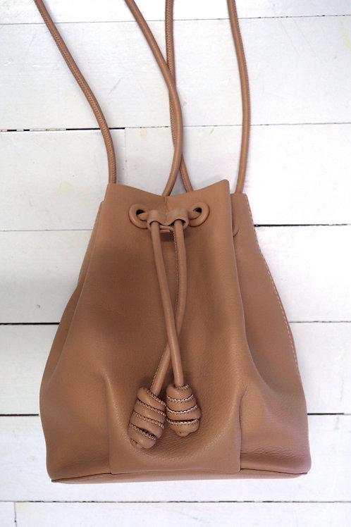 ZARA Caramel Bucket Bag