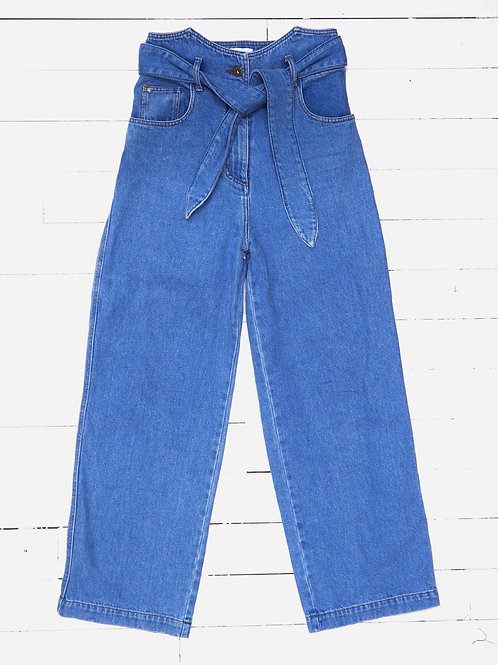 NANUSHKA High Waisted Wideleg Jeans
