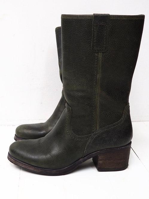 BULL BOXER Deep Green Boots