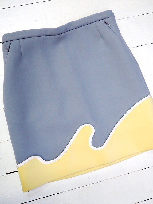 USE UNUSED Contrast Skirt