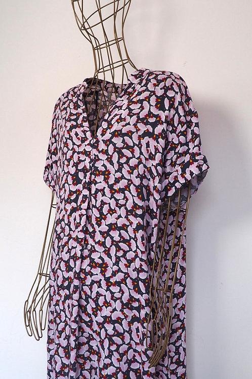 H&M x ANNA GLOVER Printed Shirtdress