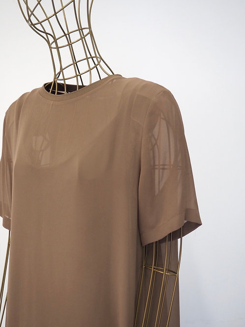 ZARA Caramel Dress