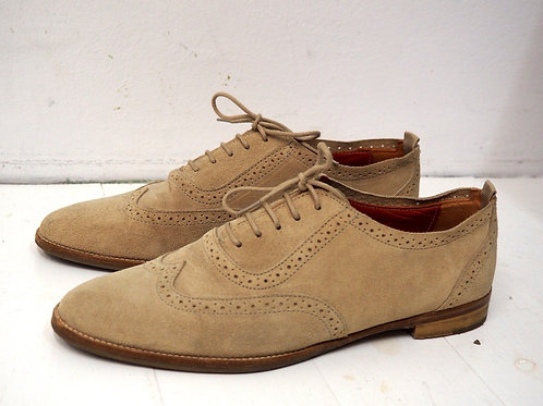 MASSIMO DUTTI Suede Oxford Shoes