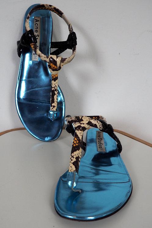 ACNE STUDIOS Snake Sandals