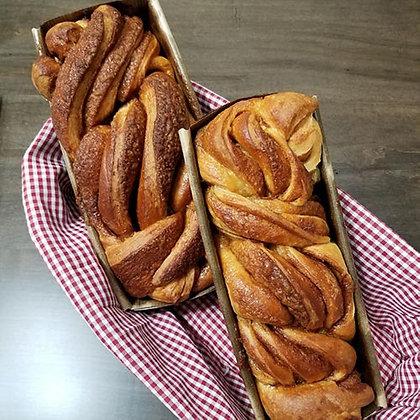Artisan Cinnamon-Sugar Babka (1 Loaf)