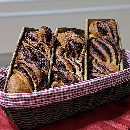 Artisan Chocolate Babka (1 Loaf)