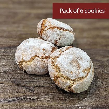 Original Amaretti (6 cookies)