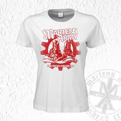 Martens Army - Wir treten wieder zu, Girlie Shirt