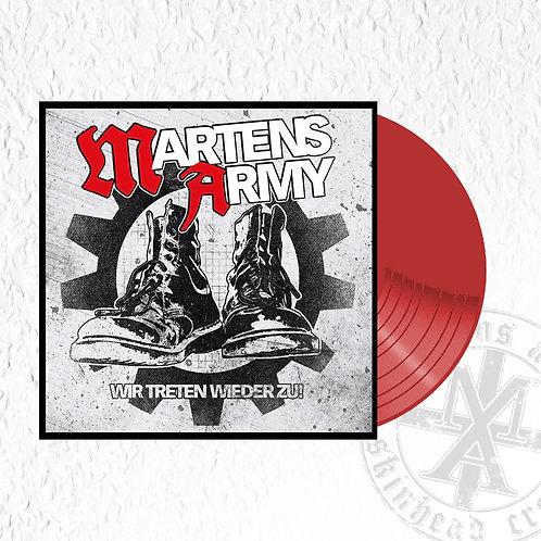 Martens Army - Wir treten wieder zu, LP rotes Vinyl