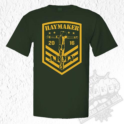 Haymaker - Army T-Shirt