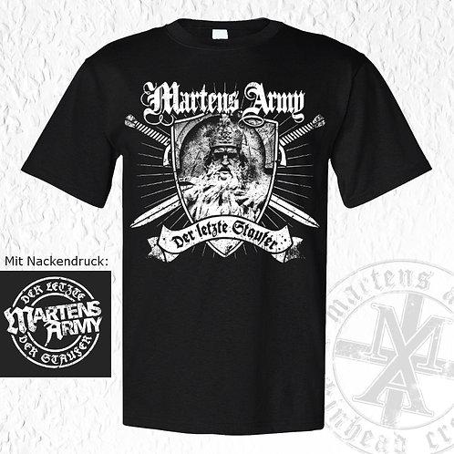 Martens Army - Staufer, T-Shirt, schwarz