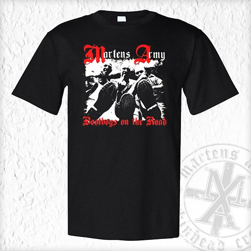 Martens Army - Bootboys on the Road, T-Shirt, schwarz