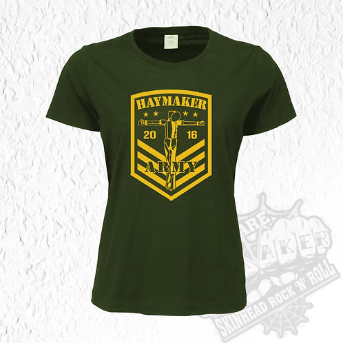 Haymaker - Army Girly-Shirt