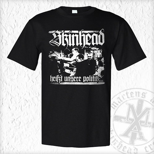 Martens Army - Politik, T - Shirt