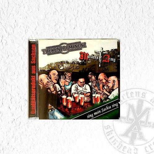 Sing mein Sachse sing - CD