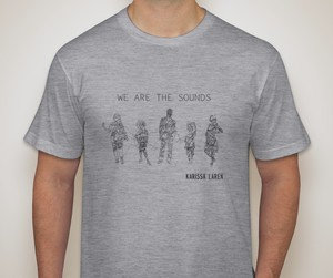 We Are the Sounds TSHIRT