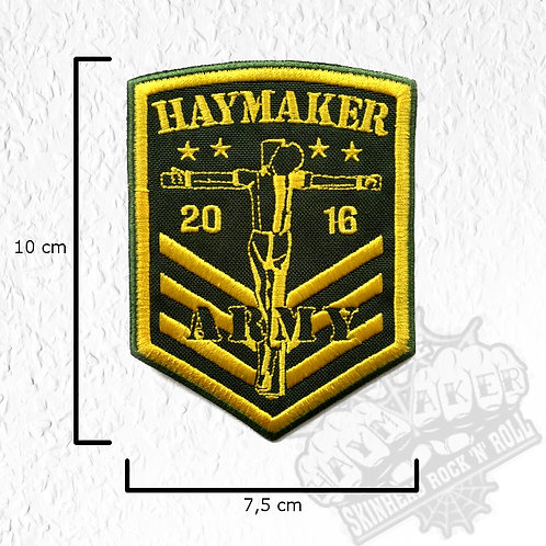 Haymaker - Army Patch