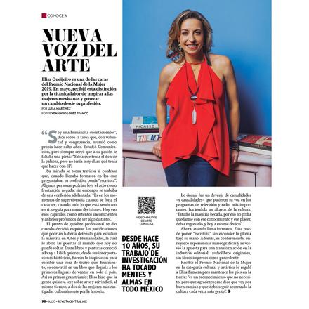 La nueva voz del arte: Elisa Queijeiro