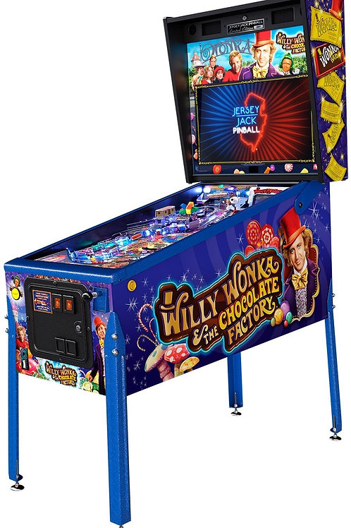 Willy Wonka & The Chocolate Factory (LE)  by Jersey Jack Pinball
