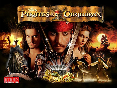 Pirates Of The Caribbean - Stern - 2006
