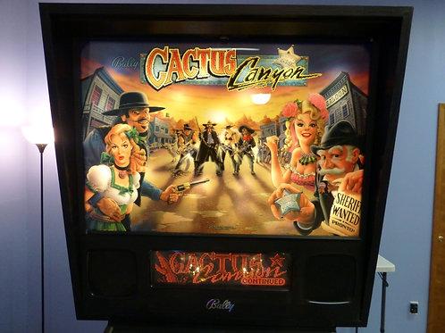 Cactus Canyon  - Bally - 1999