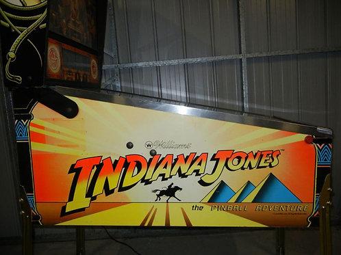 Indiana Jones:The Pinball Adventure - Williams - 1993