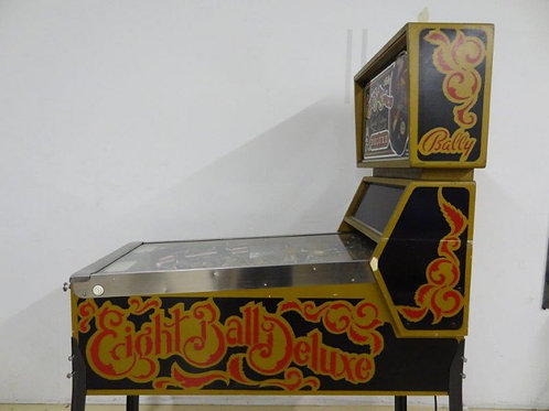Eight Ball Deluxe Ltd Edition - Bally -1982