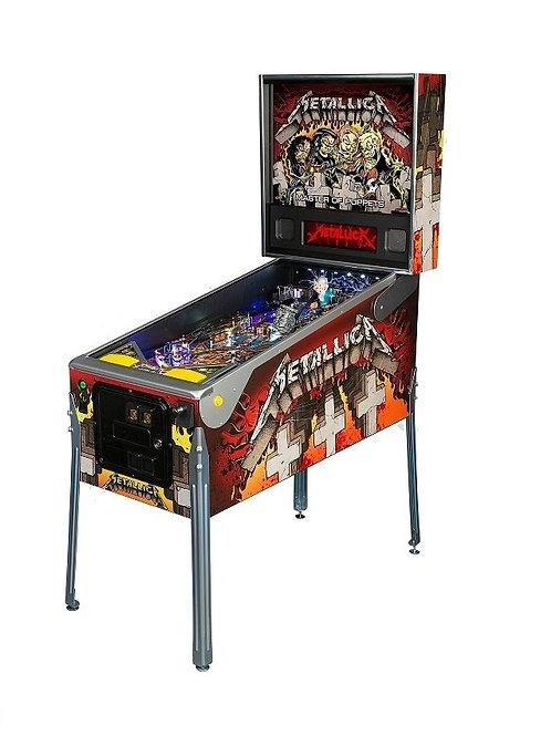 Metallica Master of Puppets (Premium/LE) - Stern Pinball- 2013