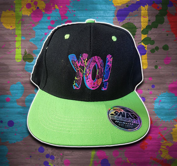 Yo! Snapback Black / Green