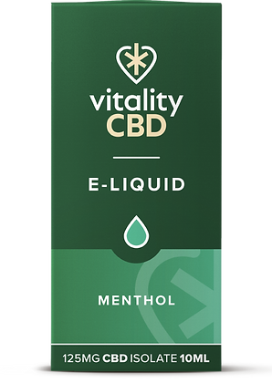Vitality CBD Isolates 125mg 10ml | 6 flavours available