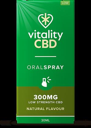 Vitality CBD Oral Spray Natural 300mg | 600mg | 1200mg