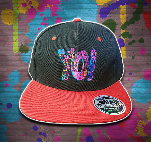 Yo! Snapback Black / Red