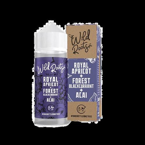 Royal Apricot, Forest Blackcurrant & Acai 100ml