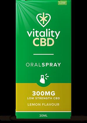 Vitality CBD Oral Spray Lemon 300mg | 600mg | 1200mg