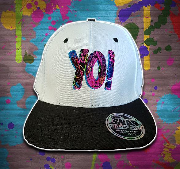Yo! Snapback White / Black
