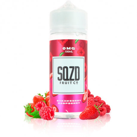 Strawberry & Raspberry 100ml Shortfill