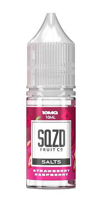 SQZD Salt Strawberry & Raspberry