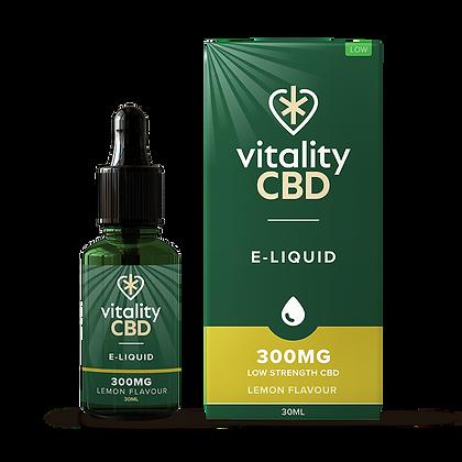 Vitality CBD Broad Spectrum Eliquid Lemon 30ml 300mg   600mg   1200mg
