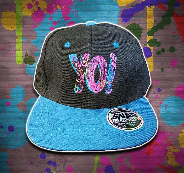 Yo! Snapback Black / Blue