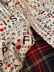Camicia Balenciaga con kilt Blumarine