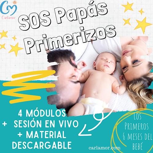 """Curso  online """"SOS papás primerizos"""""""