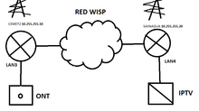 Cómo transportar la IPTV desde la ONT hasta la casa de un cliente.