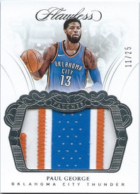 2017-18 Panini Flawless Patches #11_25 P