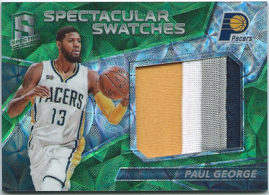 2016-17 Panini Spectra Neon Green Patch
