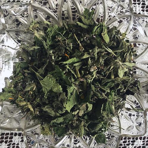 Nourishing Nervine Tisane | Herbal Tea Blend