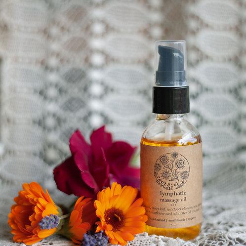 Lymphatic Massage Oil