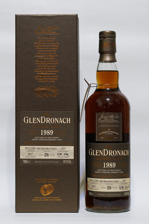 GlenDronach 1989 28yo Cask#5476 Batch 16