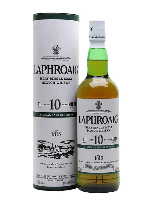 Laphroaig 10yo Cask Strength Batch#011