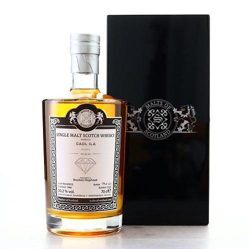 Caol Ila 1980 Malts of Scotland Bourbon Hogshead