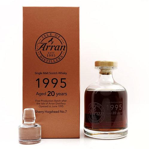 Arran 1995 20th Anniversary Decanter